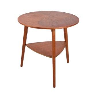 1960s Danish Modern Teak Side Table For Sale
