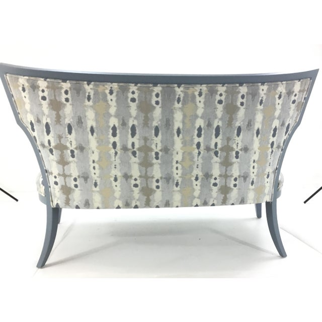 2010s Currey & Co. Garbo Settee/Bench For Sale - Image 5 of 6