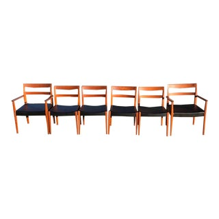 Danish Modern Troeds of Sweden Dining Chairs - Set of 6 For Sale