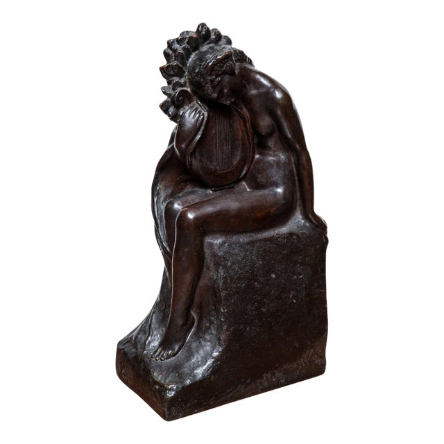 Art Deco Bronze by Amedeo Gennarelli For Sale