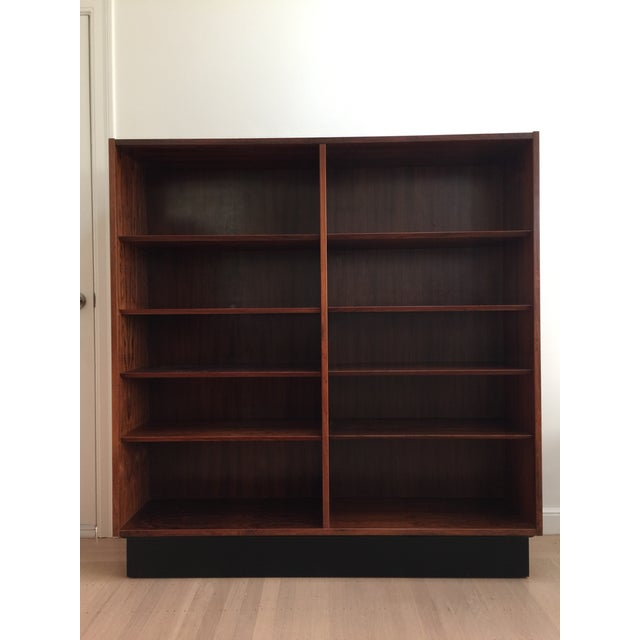 Brown 1960s Danish Modern Bookcase For Sale - Image 8 of 8