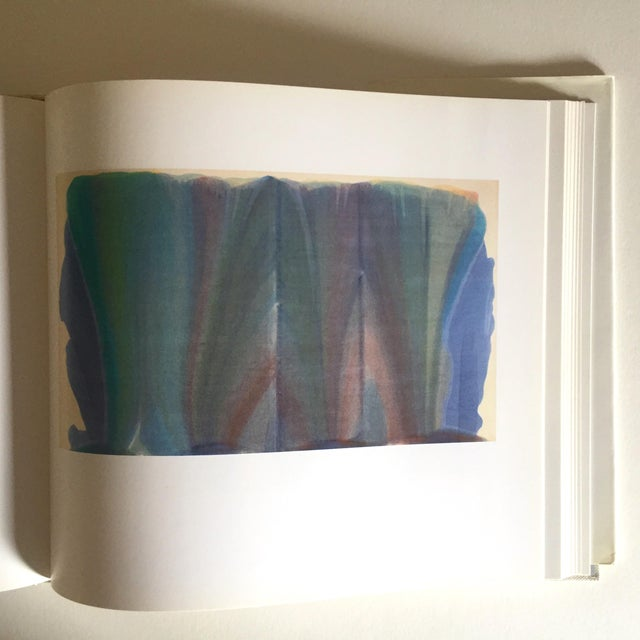 """Red Vintage 1st Edtn """"Morris Louis Moma"""" Collector's Abstract Expressionist Art Book, 1986 For Sale - Image 8 of 13"""