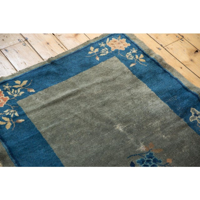 "Textile Antique Peking Rug - 3'1"" X 4'9"" For Sale - Image 7 of 13"