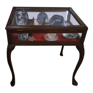 1890s Watch Case End Table For Sale