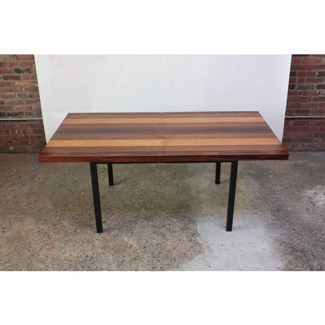 Directional Mixed-Wood Dining Table by Milo Baughman - Image 4 of 13