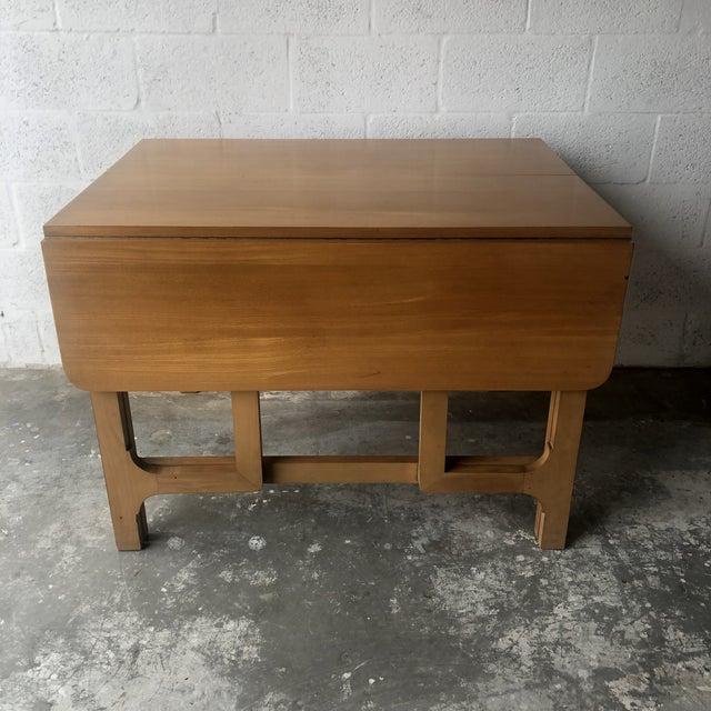 Mid-Century Modern Vintage Mid Century Modern Expanding Dining Table by Edward Wormley for Drexel Furniture For Sale - Image 3 of 13