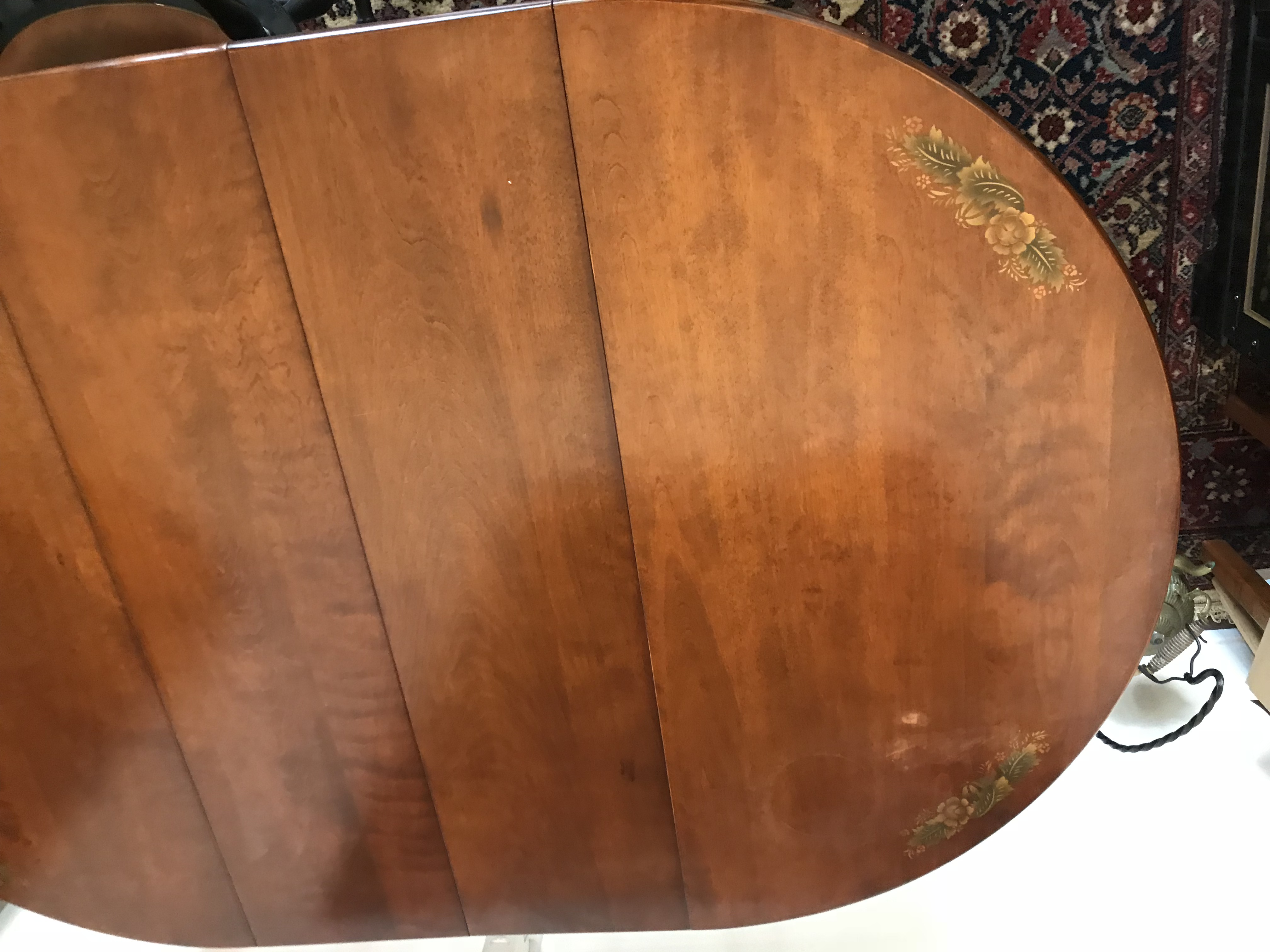 1960s Ethan Allen Hitchcock Chair Company Dining Table For Sale   Image 5  Of 8