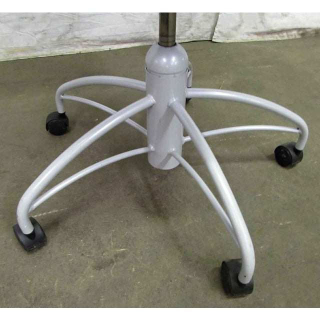 Modern Rolling Office Chair For Sale - Image 4 of 9