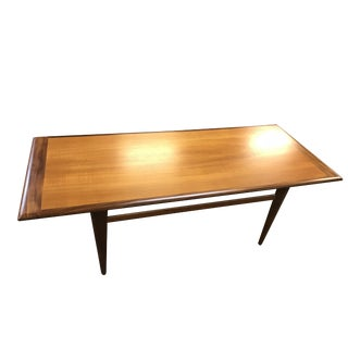 Danish Mid-Century Modern Teak Coffee Table