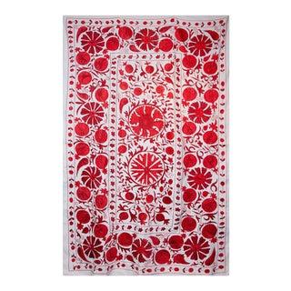 Pomegranate Suzani I Textile Art For Sale