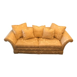 Baker Stately Collection George IV Skirted Sofa For Sale