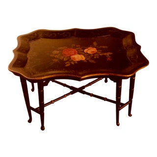 1990s Chinese Coffee Tray Table For Sale