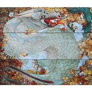 Mylo Quam Dragon Painting For Sale