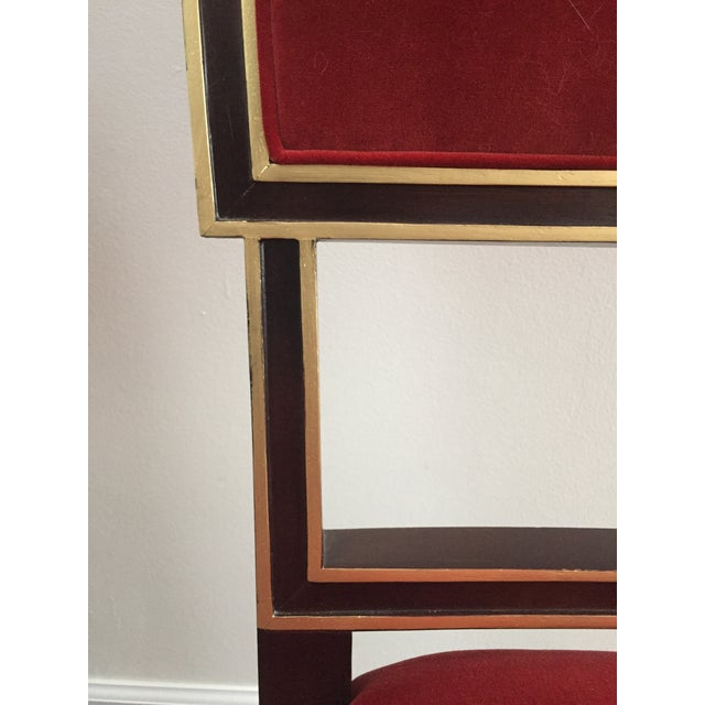 Hickory Chair Ilsa Side Chairs - A Pair For Sale - Image 5 of 7