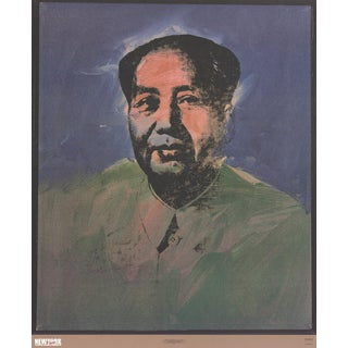 Andy Warhol_Mao_1989_Offset Lithograph For Sale
