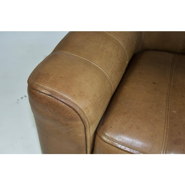 De Sede Ds44 Leather Sofa For Sale In Boston - Image 6 of 8