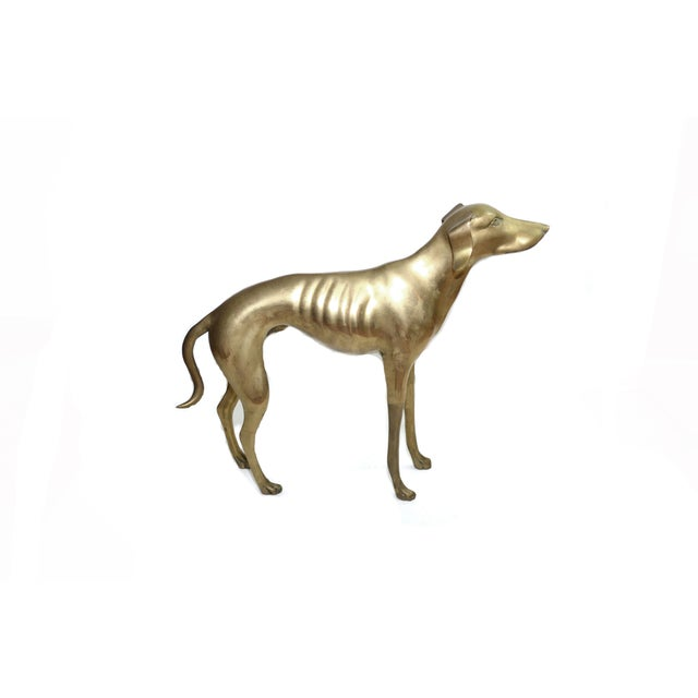 Brass Whippet or Greyhound - Image 4 of 6
