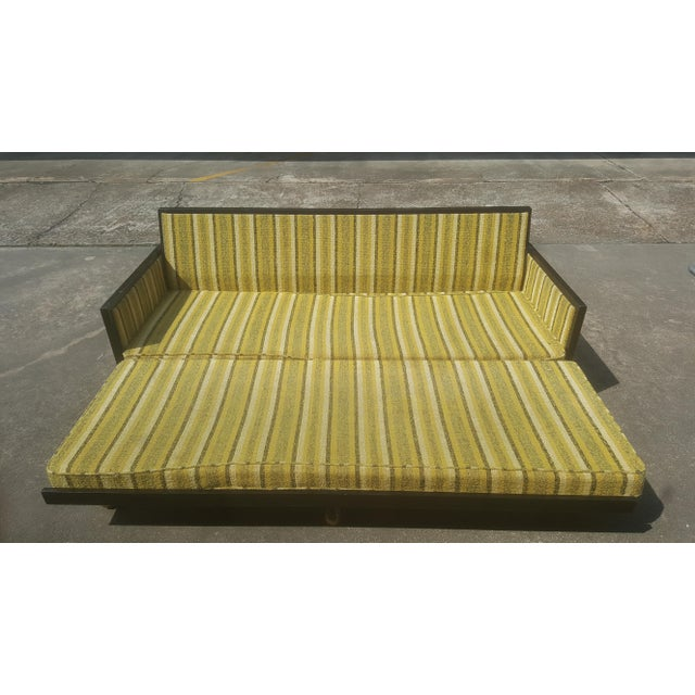 Mid-Century Modern Convertible Sleeper Sofa For Sale - Image 4 of 11