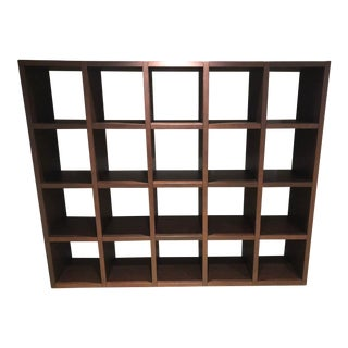 Cappellini Sistemi Wenge Wood Bookshelf For Sale