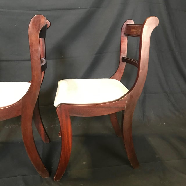 Early 19th Century Regency Dining Chairs- Set of 4 For Sale - Image 11 of 13