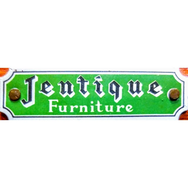 1960s Danish Modern Jentique Furniture Tola and Rosewood Credenza For Sale - Image 10 of 12