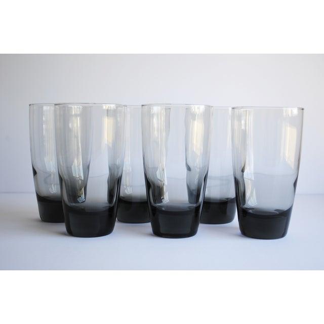 Mid-Century Highball Glasses, Set of 6 - Image 2 of 4