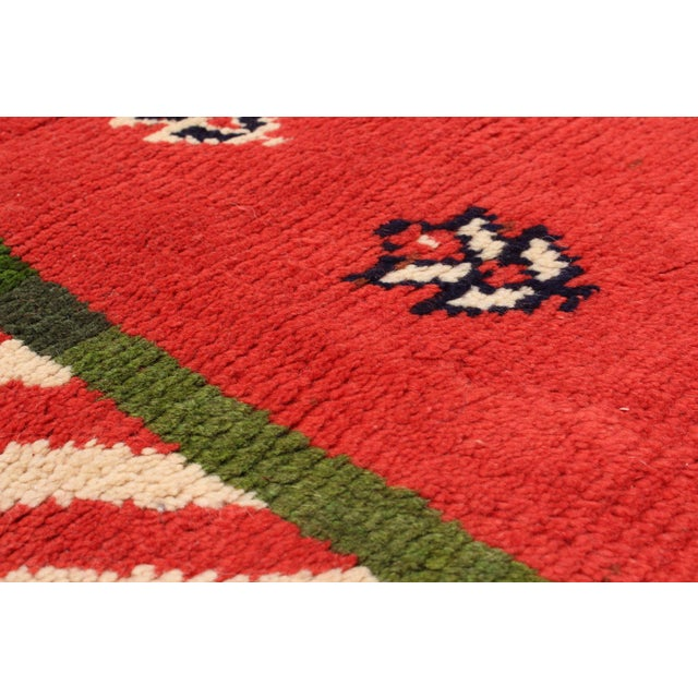 Gabbeh tribal rugs are handmade with extra high pile and very simple, stylized designs. They are constructed from local...