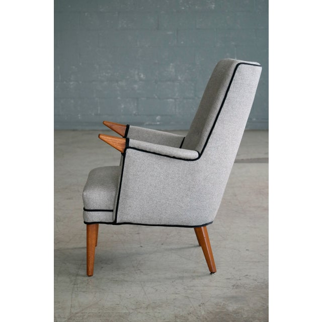 """1960s Svend Skipper """"Mama Bear"""" Wingback Lounge Chair For Sale - Image 5 of 11"""