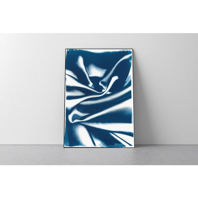 This is an exclusive handprinted limited edition cyanotype. Details: + Title: Classic Blue Silk Movement nº2 + Year: 2019...