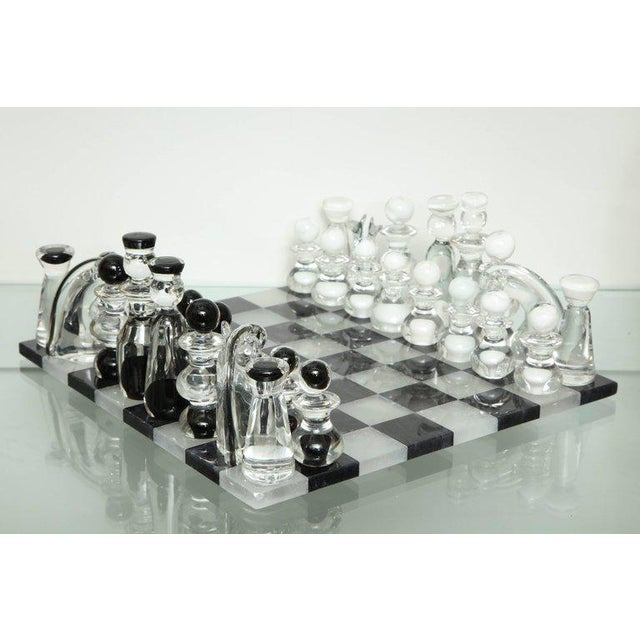 Murano Glass Chess Set For Sale In New York - Image 6 of 6