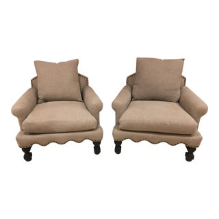 Brownstone Upholstery Abbey Chairs - A Pair