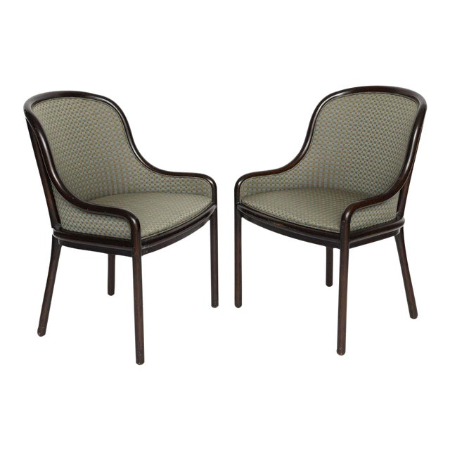 Pair of Ward Bennett Chairs for Brickell 1970s For Sale