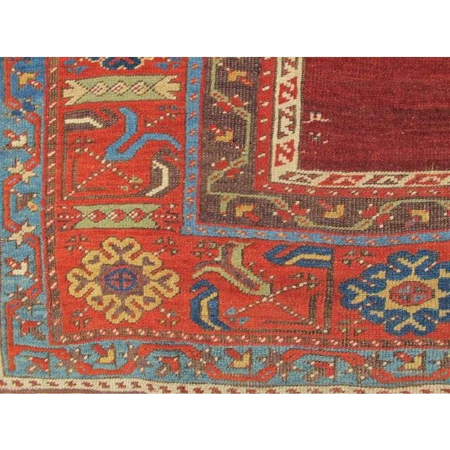 Traditional Turkish Ladik Rug For Sale - Image 3 of 6