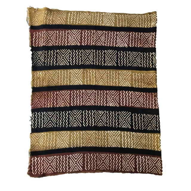 Bogolan Mali Mud Cloth Textile For Sale In New York - Image 6 of 8