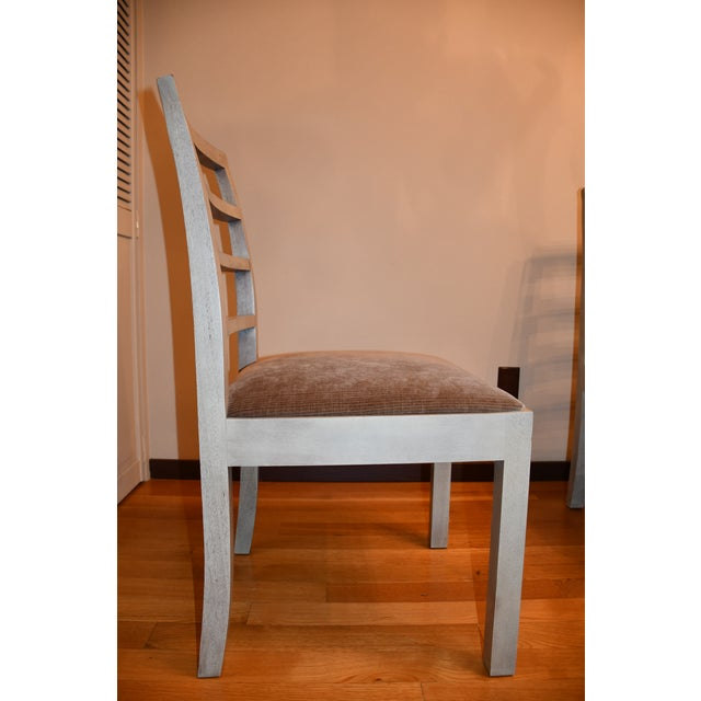 Contemporary Thomas O'Brien Dara Ladder Back Dining Chairs - Set of 4 For Sale - Image 3 of 6