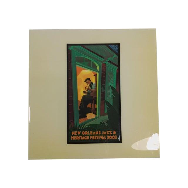 2002 New Orleans Jazz Festival Poster Art Tile - Image 1 of 5