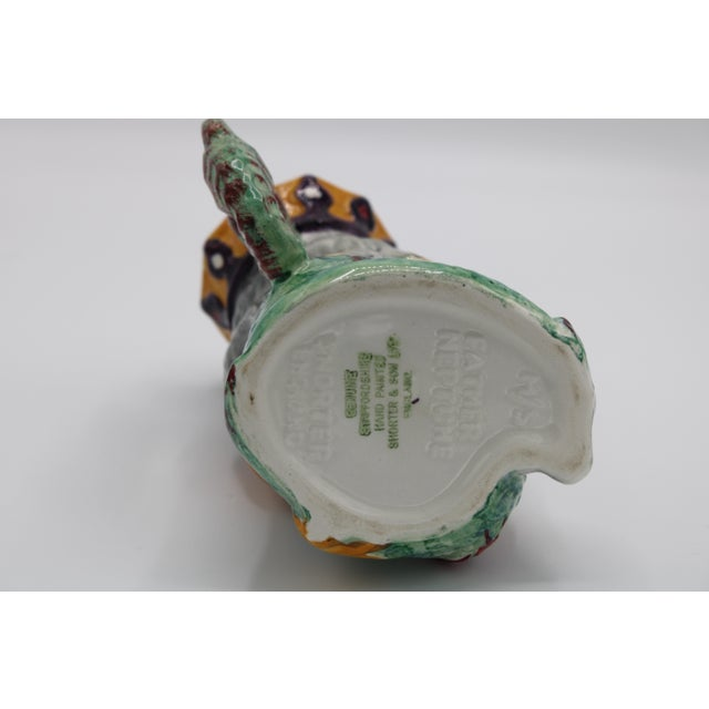 Ceramic English Staffordshire Father Neptune Nautical Mug / Toby Jug For Sale - Image 7 of 10