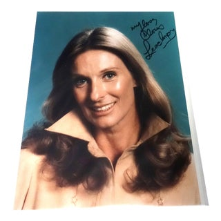 Vintage Autographed Hollywood Publicity Photo of the Young Cloris Leachman For Sale