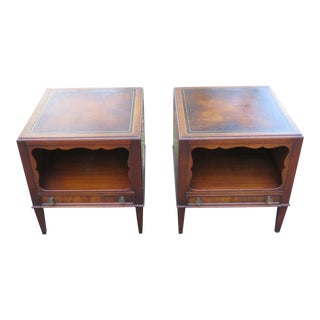 Mid Century Modern Nightstands by Weiman-a Pair For Sale