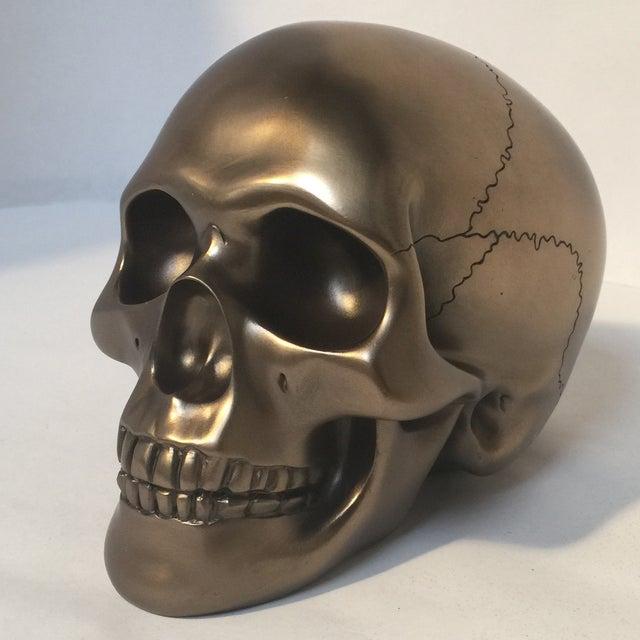 Large Bronze Skull - Image 2 of 8