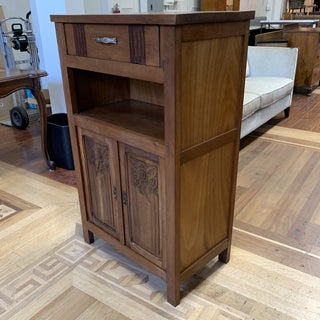 Mid-20th Century Oak Wood Cabinet Preview