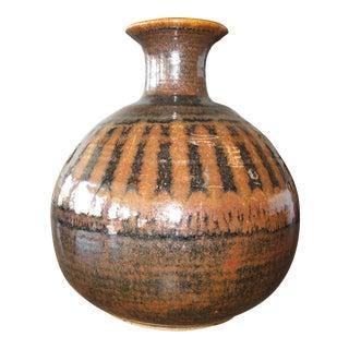 1976 Mid-Century Pottery Vase