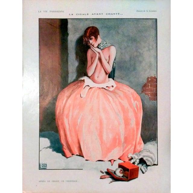 "1926 La Vie Parisienne ""Posing Pretty"" Prints - Pair - Image 2 of 10"