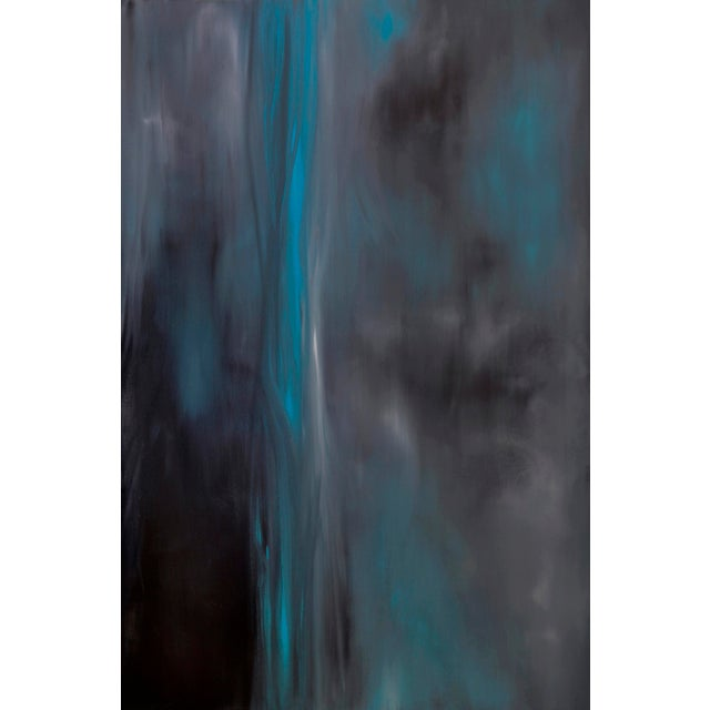"""""""Simplicity (#8 in Series)"""" Original Abstract Modern Oil Painting For Sale - Image 4 of 4"""