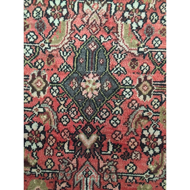 Hamadan Persian Rug - 2′11″ × 9′5″ - Image 8 of 8