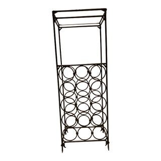 Wrought Iron Wine Rack For Sale