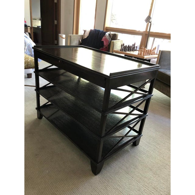 Rose Tarlow Pemberley Bookstand For Sale - Image 9 of 10