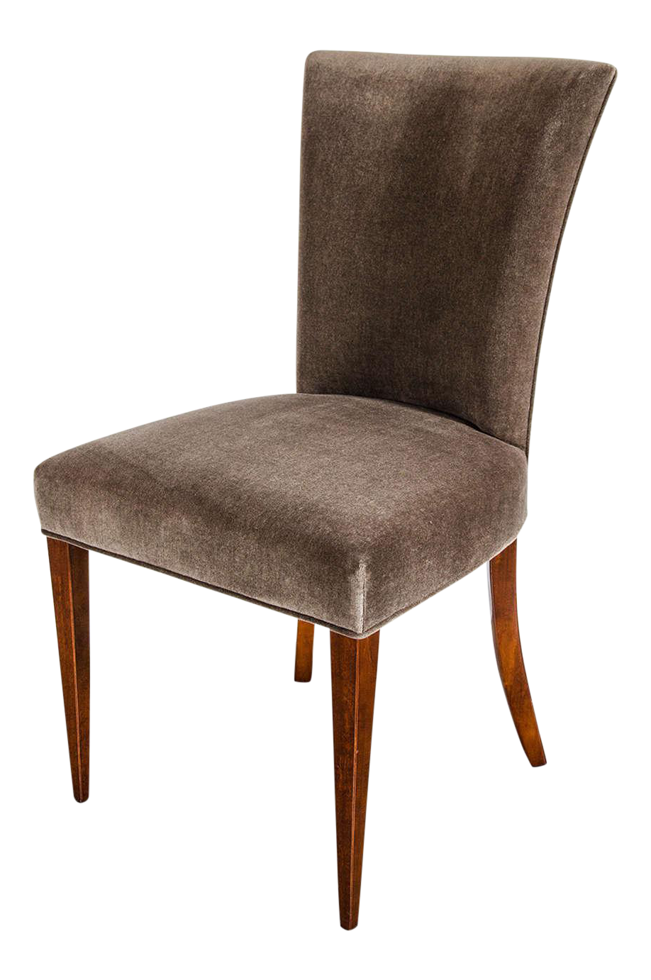 Art deco office chair Stylish Fine Art Deco Occasional Or Desk Chair In Mahogany And Tobacco Brown Mohair For Sale Decaso Worldclass Fine Art Deco Occasional Or Desk Chair In Mahogany And