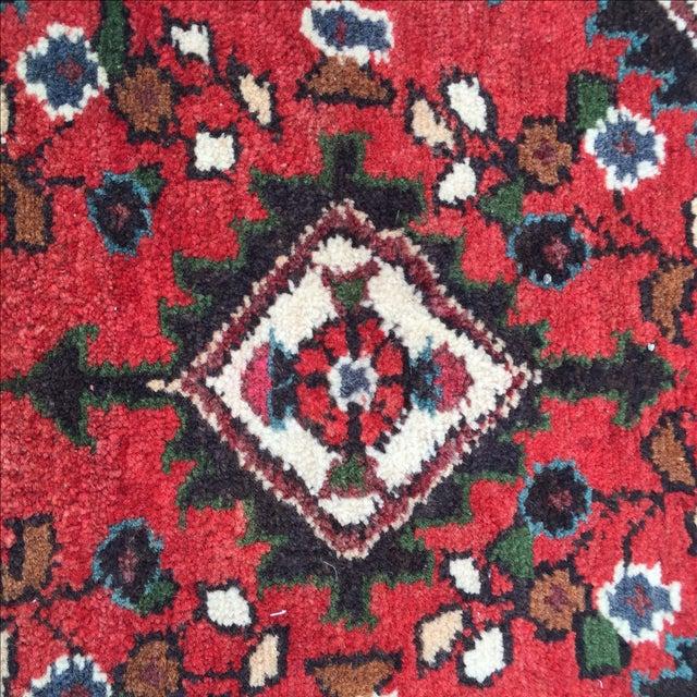 Vintage Hamadan Persian Rug - 1′8″ × 2′1″ - Image 7 of 9