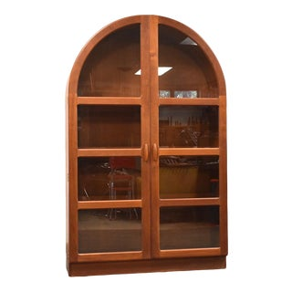 Teak Danish Dyrlund Cabinet For Sale